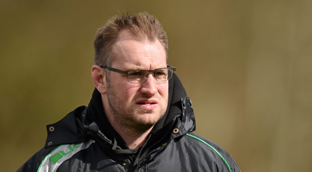Former Munster and Leicester star Johne Murphy returned to his Naas roots this season (Sportsfile)