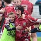 'One club that really embraced the occasion was Portarlington RFC.'