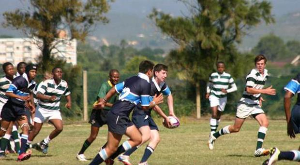 Action involving the King's Hospital boys in South Africa