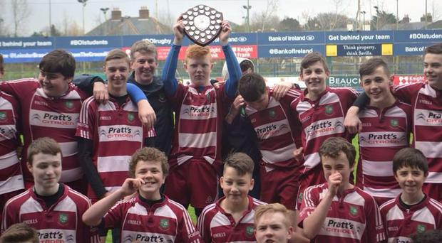 Portarlington have enjoyed a successful run of form last year with its U-13 team claiming the spoils in the Leinster league last season