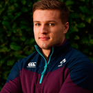 Johnny McPhillips is one of two players in the starting line up for Ireland's U20s who are returning from last year Picture: Sportsfile