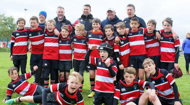 Wicklow U-11 enjoy their trip to the Four Nations Festival at Malone