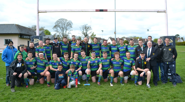 The Seapoint first team can be well pleased with their effortsw after finishing the season well to maintain their AIL status