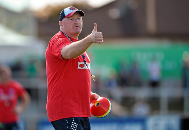 Dragons coach Bernard Jackman. Photo: SPORTSFILE