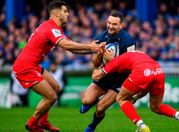 Leinster outclass Toulouse in battle of European heavyweights