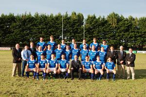The St Mary's team that claimed the Ulster Bank League 1B crown last year
