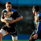Leinster's Jack Conan, left, in action during training this week