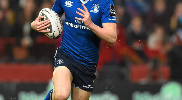 Leo Cullen has great hopes for Garry Ringrose but doesn't want the youngster rushed. Photo: Stephen McCarthy / SPORTSFILE