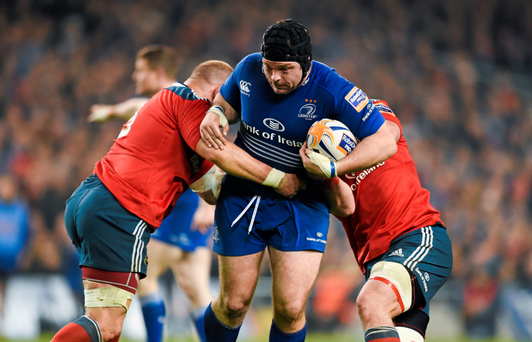 Mike Ross is primed for yet another showdown against old rivals Munster (SPORTSFILE)