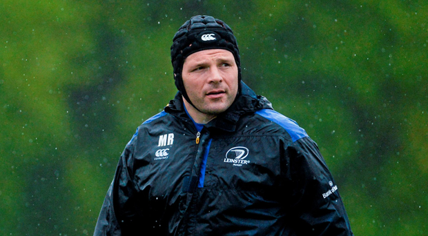 Mike Ross in training with Leinster Photo: Sportsfile