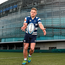 Ian Madigan at the launch of a new club rugby initiative, 'Drop Kick for your Club' at the Aviva Stadium which will take place at half-time during the Ulster Bank League Final in the Aviva Stadium on Sunday May 8. For more information visit www.facebook.com/UlsterBankRugby Photo: Sportsfile
