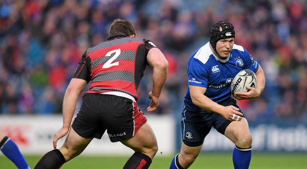 'I am so invested here now. I am in Dublin, in Leinster since 2009 and I've bought into the culture, the environment, the place itself,' says Richard Strauss Photo: Sportsfile
