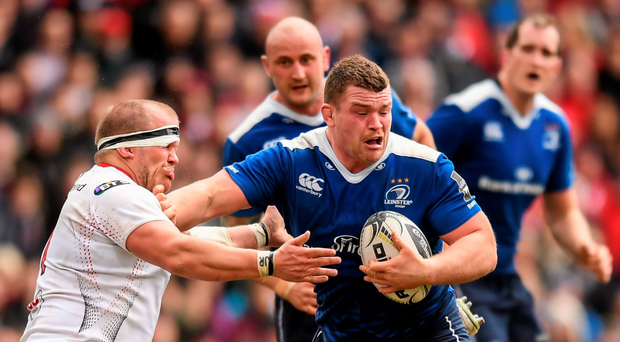 Jack McGrath will pack down for Leinster away to Edinburgh Photo: Sportsfile