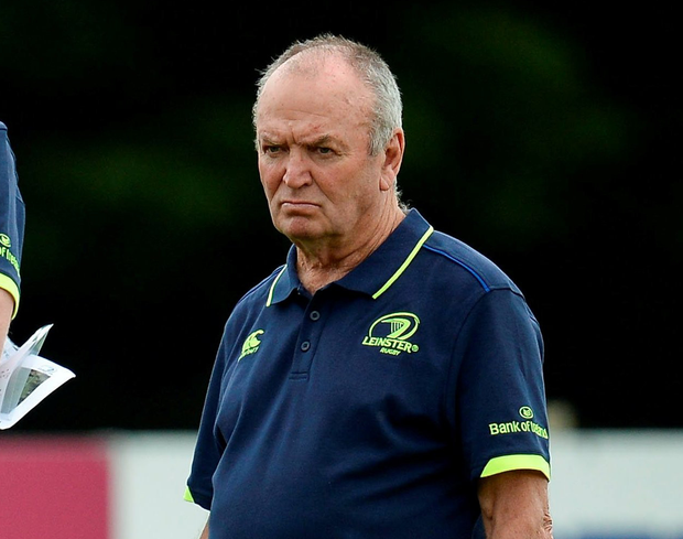 Graham Henry was one of the new voices the Leinster players heard during pre-season. Photo: Sportsfile