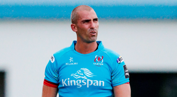 Ruan Pienaar on his way to a 12-point haul.