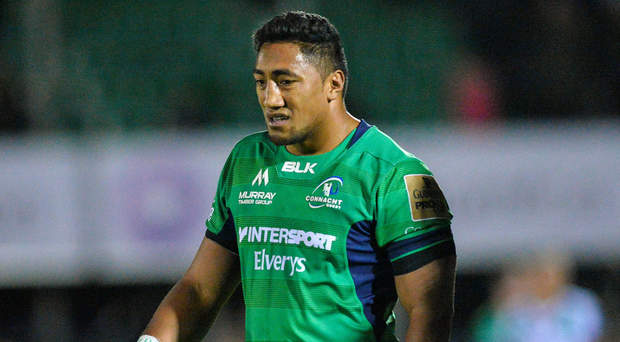 A dejected Bundee Aki of Connacht. Photo: Sportsfile