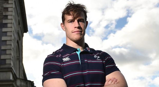 'The danger for Andrew Trimble now is in trying too hard to be the one to lead Ulster into the light'. Photo: Sportsfile