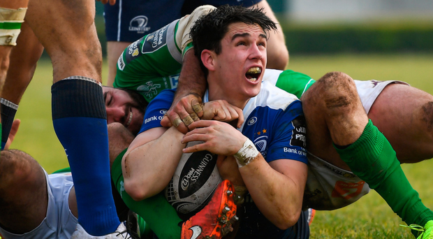 Joey Carbery made his return against Treviso last weekend and starts against Edinburgh tonight. Photo: Sportsfile