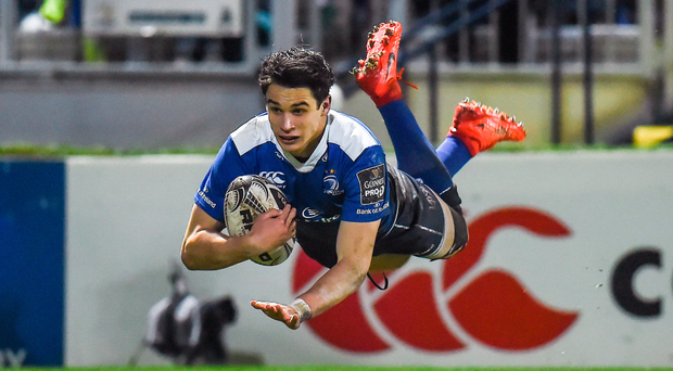 The young guns led by Joey Carbery ran the show after half-time last week. Photo: Sportsfile