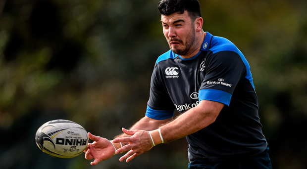 Mick Kearney turns on the style during training. SPORTSFILE