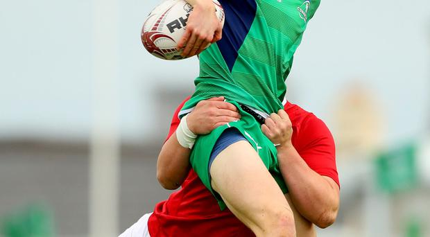 Hugh Lane started at full-back for Connacht against Ulster last weekend. Picture: INPHO/James Crombie