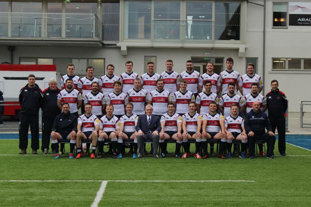 The Old Wesley 1st XV that reached the Division 1A playoff last season.