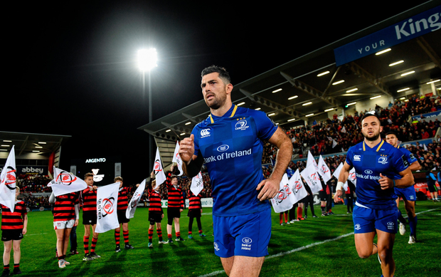 Rob Kearney's return to action at full-back is timely ahead of the autumn internationals. Photo: SPORTSFILE