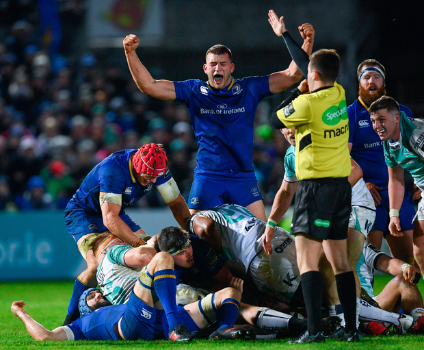 Ross Molony believes interprovincial success can be converted into Champions Cup victory this weekend. Photo: SPORTSFILE