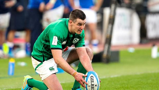 Johnny Sexton has signed a new one-year deal with the IRFU. Image credit: Sportsfile.