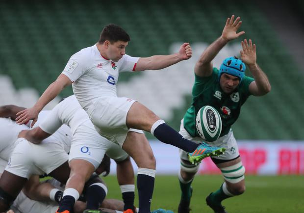 Tadhg Beirne was one of Ireland's standout performers. Picture by Niall Carson/Reuters