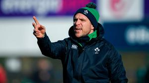 Adam Griggs will be hoping his Ireland side can make a winning start to their Six Nations campaign against Wales on Saturday. Photo: Sportsfile