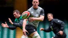 Ireland's Paul O'Connell during their captain's run ahead of their RBS Six Nations Rugby Championship game against Wales on Saturday