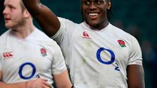 Maro Itoje has been penalised with such regularity that he is starting to become a liability for England. Photo: Ramsey Cardy/Sportsfile