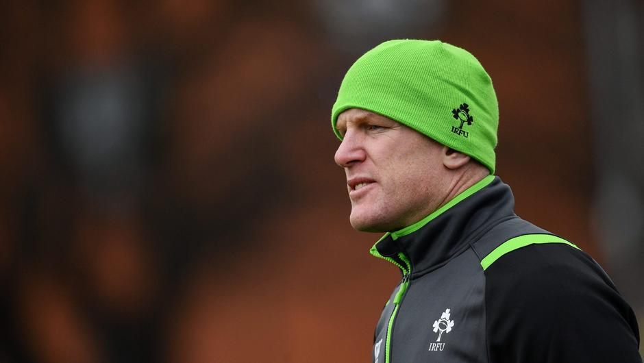 Paul O'Connell says improving Ireland's lineouts will be down to the players and not what he might think they should be doing. Photo: Ramsey Cardy/Sportsfile