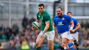 Even if Robbie Henshaw was to finish playing now, the Athlone native would have a highlights reel to rival most other Ireland internationals. Photo: Sportsfile