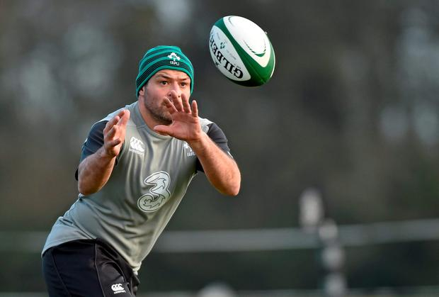 Ireland's Rory Best is in doubt for the match against France