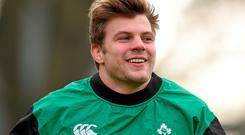 Leinster and Ireland back-row Jordi Murphy