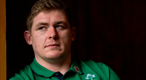 Tadhg Furlong has only started four games for Ireland but is tipped for the Lions tour. Photo: Sportsfile