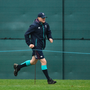 Joe Schmidt at Ireland training yesterday