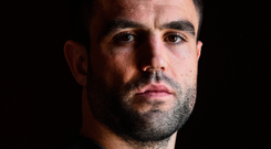 Conor Murray in pensive mood at the Ireland training camp in Maynooth yesterday. Photo: Sportsfile