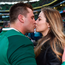 CJ Stander of Ireland celebrates with his wife Jean Marié. Photo: Sportsfile