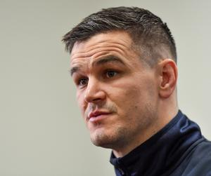 Ireland captain Johnny Sexton expressed his 'disappointment' with French doctors who floated the idea that he has suffered 30 career concussions. Photo: Sportsfile