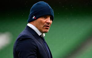 France team manager Raphael Ibanez prior to the Guinness Six Nations Rugby Championship match between Ireland and France at the Aviva Stadium in Dublin. Photo: Sportsfile