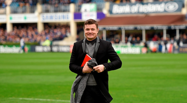 15 November 2015; BT Sport's Brian O'Driscoll. European Rugby Champions Cup, Pool 5, Round 1, Leinster v Wasps. RDS, Ballsbridge, Dublin. Picture credit: Stephen McCarthy / SPORTSFILE