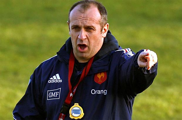 France rugby coach Phillipe Saint-Andre has made seven changes from the side heavily defeated by Wales.