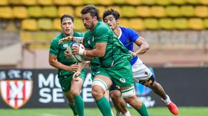 Harry McNulty has been with the Ireland Sevens squad since it restarted in 2015. Image credit: Sportsfile.