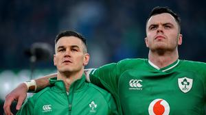 Neil Francis thinks that Johnny Sexton and James Ryan could miss out on Lions selection. Image credit: Sportsfile.