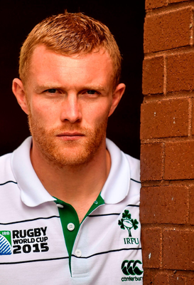 Keith Earls' career has been hampered by injuries and there did come a time when he wondered was it all worth it SPORTSFILE
