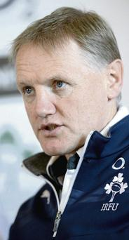 Joe Schmidt can look forward to his Ireland team playing at Wembley during the next Rugby World Cup