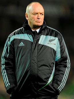 Graham Henry led New Zealand to World Cup glory in 2011